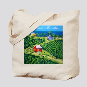 Island Time Art Shower Curtain Tote Bag