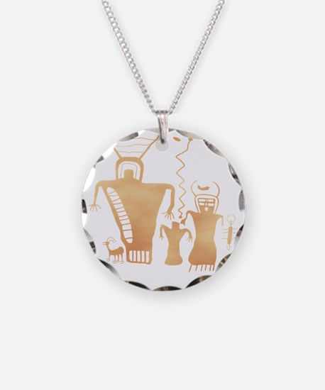 Sky Family Necklace Circle Charm
