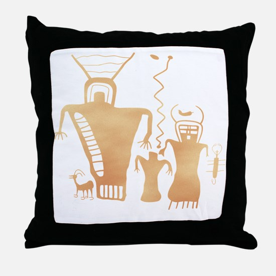 Sky Family Throw Pillow