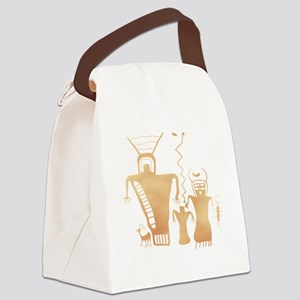 Sky Family Canvas Lunch Bag
