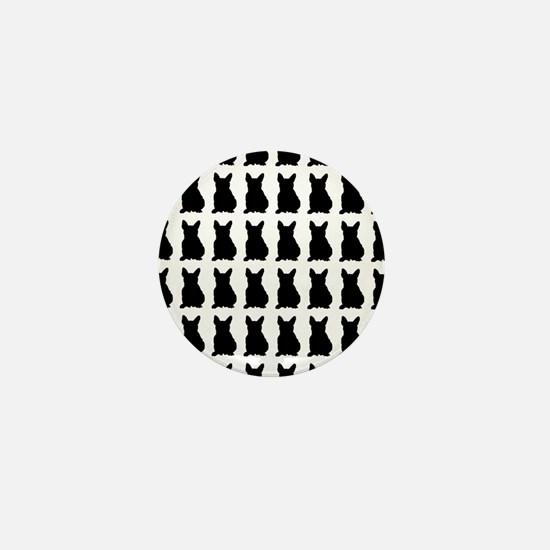 French Bulldog Silhouette Flip Flops I Mini Button