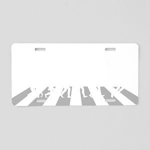 Tennis-A Aluminum License Plate