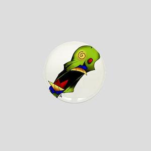 Screamer Mini Button