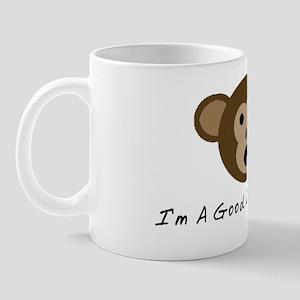Im A Good Little Monkey Mug