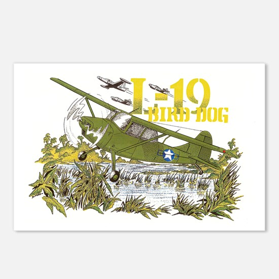 L-19 BIRD DOG Postcards (Package of 8)