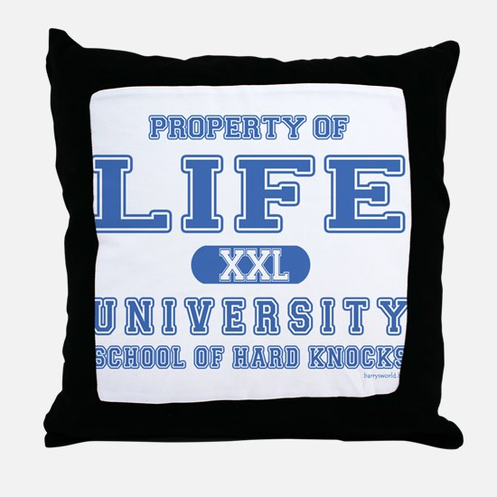 Hard Knocks Throw Pillow