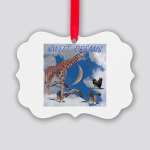 Sweet Dreams Picture Ornament