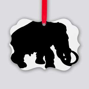 Mammoth Picture Ornament