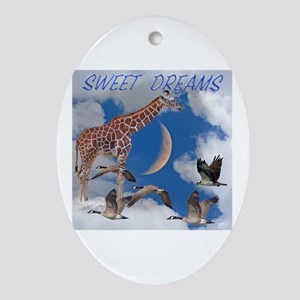 Sweet Dreams Oval Ornament