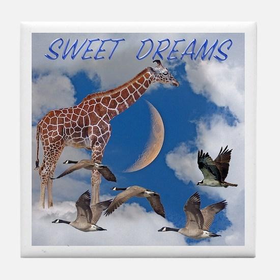 Sweet Dreams Tile Coaster