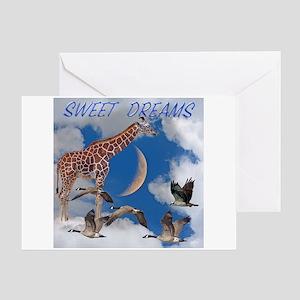 Sweet Dreams Greeting Card