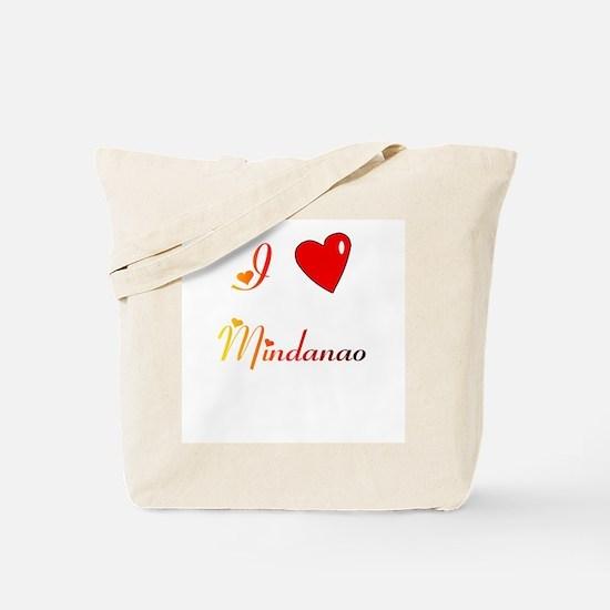 I Love Mindanao Gifts Tote Bag