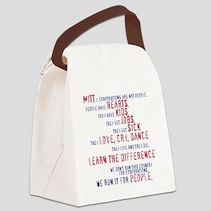 Mitt Corp Canvas Lunch Bag