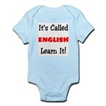 It's Called English Learn It Infant Bodysuit