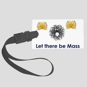 God particle Large Luggage Tag