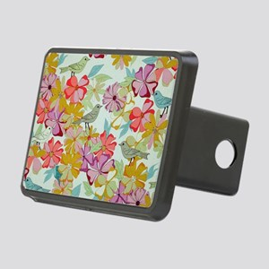 Floral Rectangular Hitch Cover