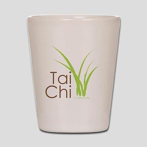 tai chi growth 6 Shot Glass