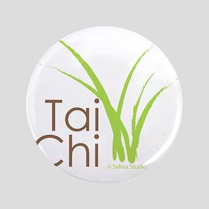 "tai chi growth 6 3.5"" Button"