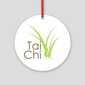 tai chi growth 6 Round Ornament