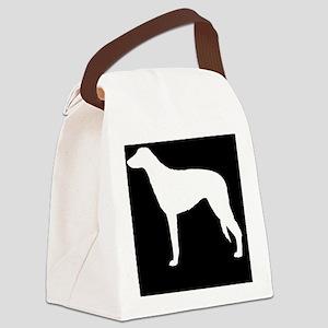 scottdeerhoundpatch Canvas Lunch Bag