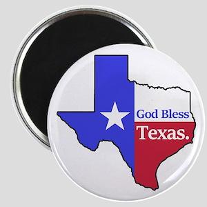 God Bless Texas Magnets