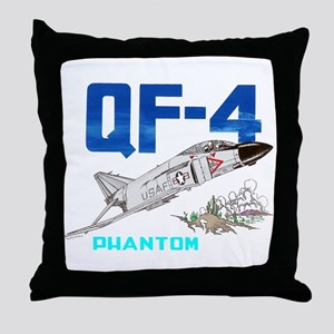 QF-4 PHANTOM Throw Pillow