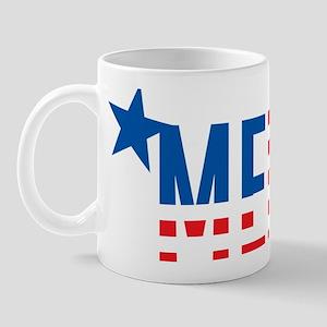 US Flag MERICA Mug