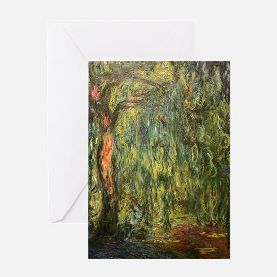 Monet Willow Greeting Card