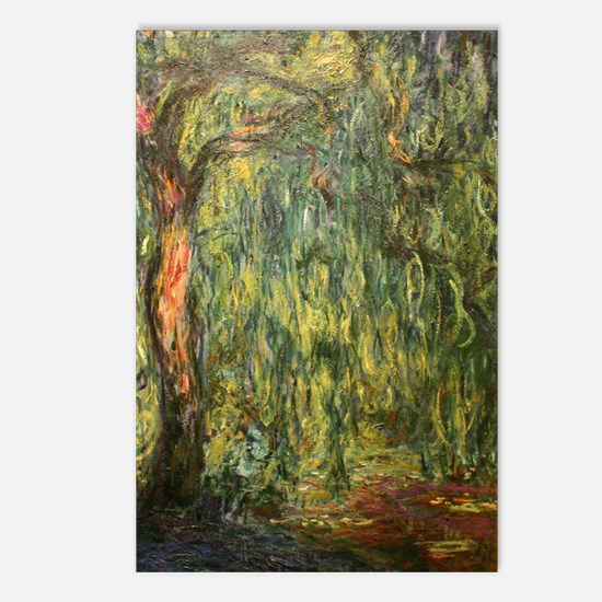 Monet Willow Postcards (Package of 8)