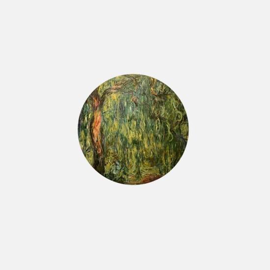 Monet Willow Mini Button