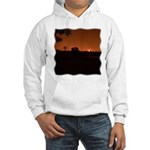 Farm Sunset #1 Hooded Sweatshirt