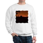 Farm Sunset #1 Sweatshirt