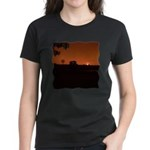 Farm Sunset #1 Women's Dark T-Shirt