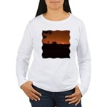 Farm Sunset #1 Women's Long Sleeve T-Shirt