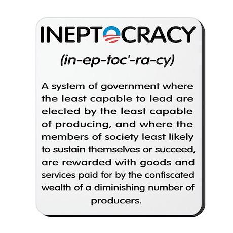Ineptocracy Mousepad