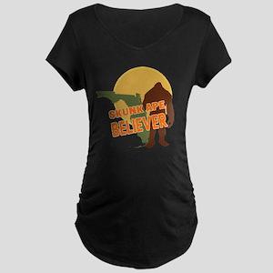 Skunk Ape Maternity Dark T-Shirt