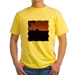 Farm Sunset #1 Yellow T-Shirt
