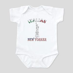 Italian New Yorker - Lib Infant Bodysuit