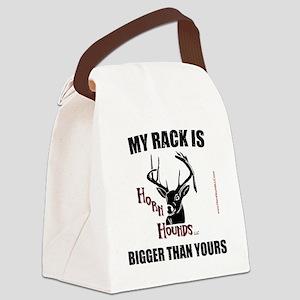 Horn Hounds T-Shirt Canvas Lunch Bag