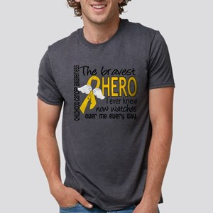 Bravest Hero I Knew Childhood Cancer T-Shirt