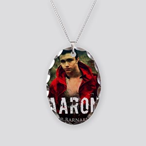 Aaron Necklace Oval Charm