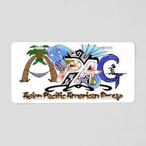 APAG Logo Aluminum License Plate