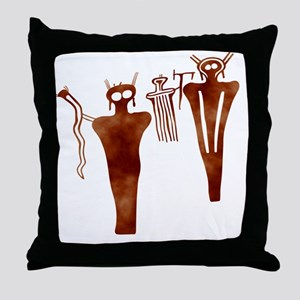 Sego Aliens Throw Pillow