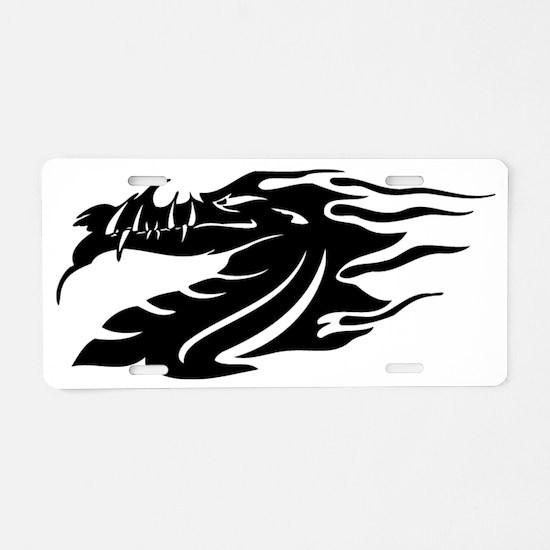 00010_Dragon Aluminum License Plate