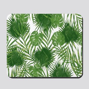 Tropical Leaves Mousepad