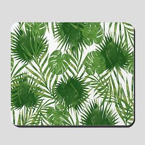 Tropical Leaves Mousepad