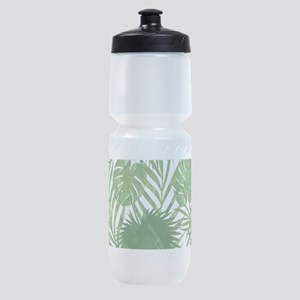 Tropical Leaves Sports Bottle