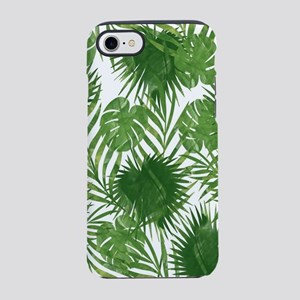 Tropical Leaves iPhone 7 Tough Case