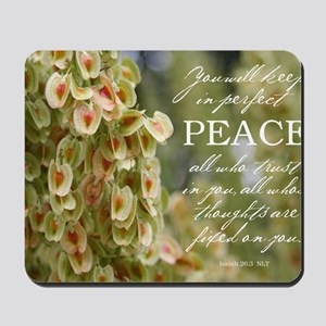 Perfect Peace Mousepad