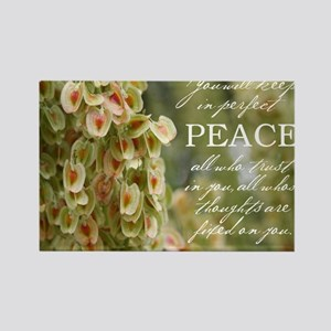 Perfect Peace Rectangle Magnet